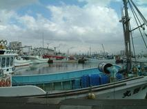 漁港の休日