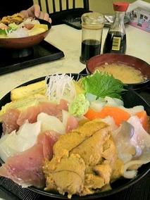 ザ・海鮮丼!
